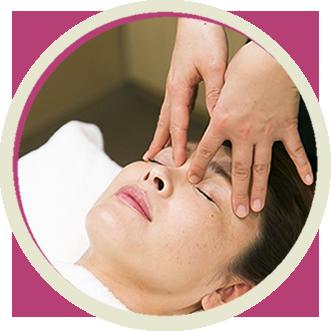 顔・耳のリフレクソロジー
